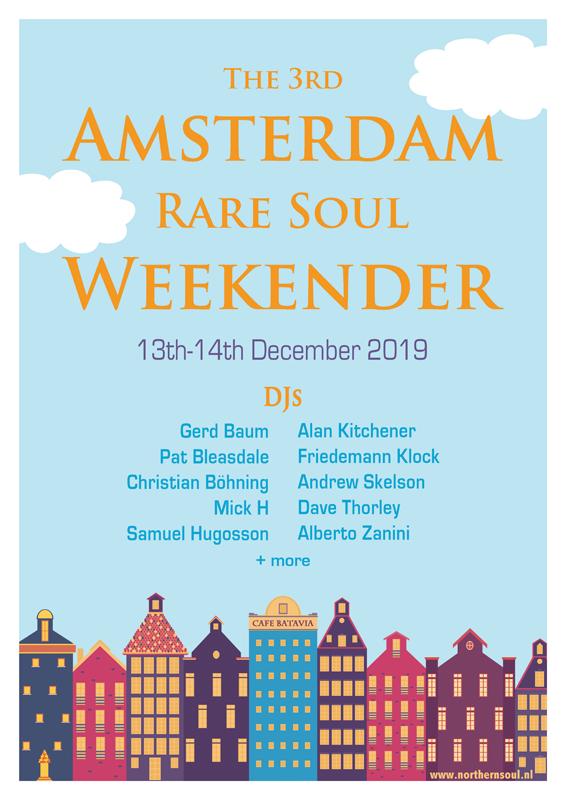 Amsterdam Northern Soul Club Events 2019